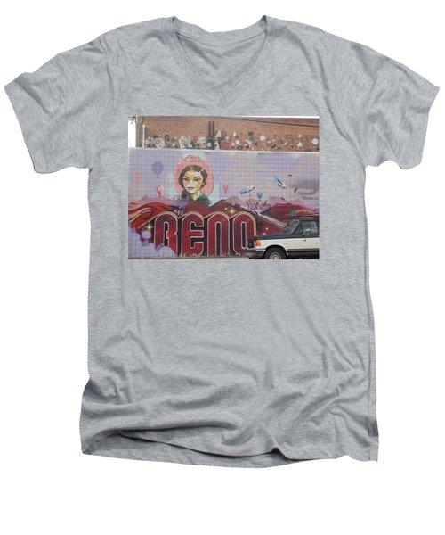 Reno Men's V-Neck T-Shirt