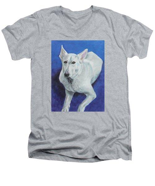 Reno Men's V-Neck T-Shirt by Jeanne Fischer