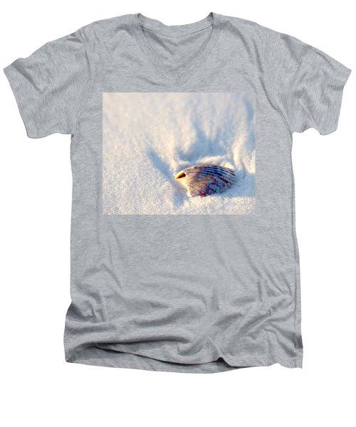 Resting Men's V-Neck T-Shirt by Liz Masoner