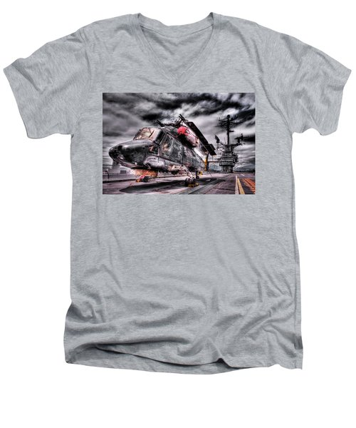 Retired Pilot Men's V-Neck T-Shirt