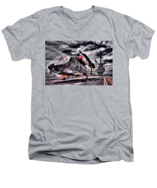 Retired Pilot Men's V-Neck T-Shirt