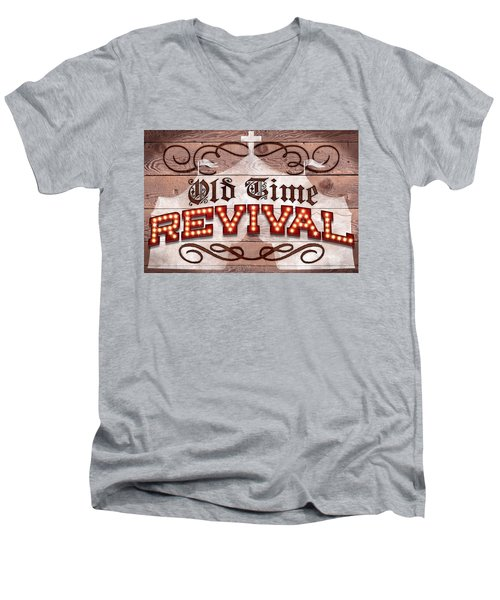 Revival I Men's V-Neck T-Shirt