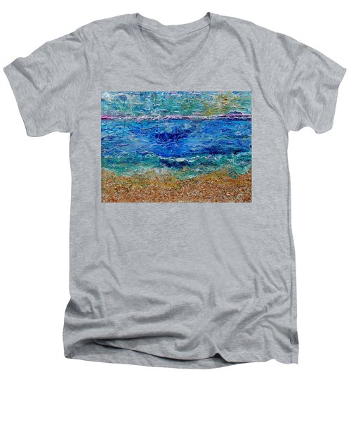 Rhapsody On The Sea  Men's V-Neck T-Shirt