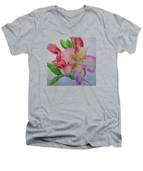 Rhodie With Dew I Men's V-Neck T-Shirt