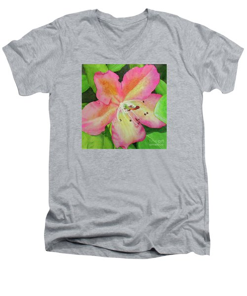Rhodie With Dew II Men's V-Neck T-Shirt