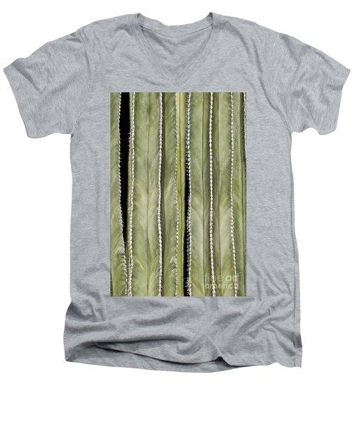 Ribs Men's V-Neck T-Shirt by Kathy McClure