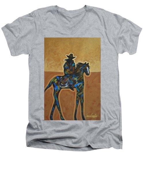 Riding Solo Men's V-Neck T-Shirt