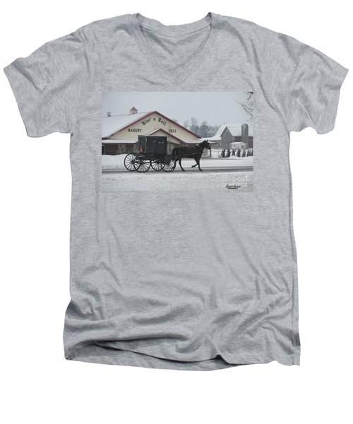 Rise N Roll Buggy Men's V-Neck T-Shirt