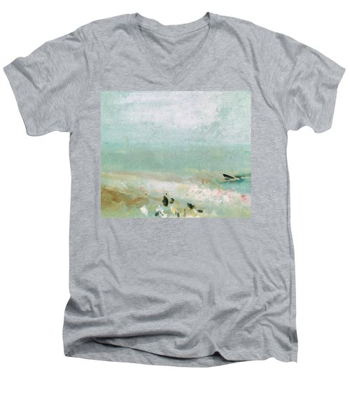 River Bank Men's V-Neck T-Shirt
