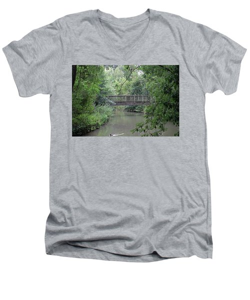 River Great Ouse Men's V-Neck T-Shirt