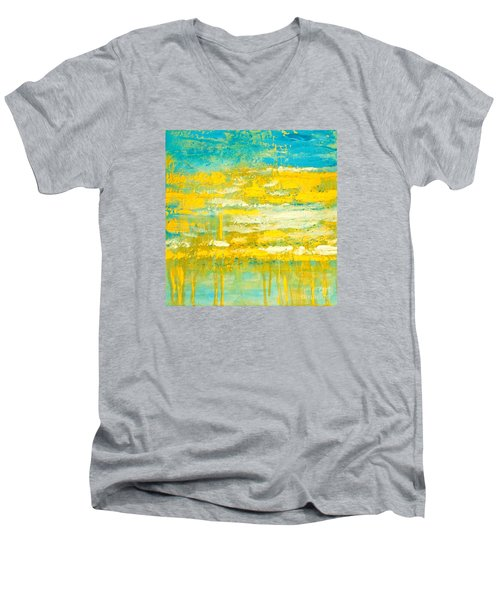 River Of Praise Men's V-Neck T-Shirt