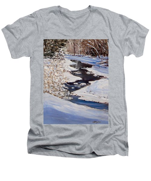 Riverbend Men's V-Neck T-Shirt
