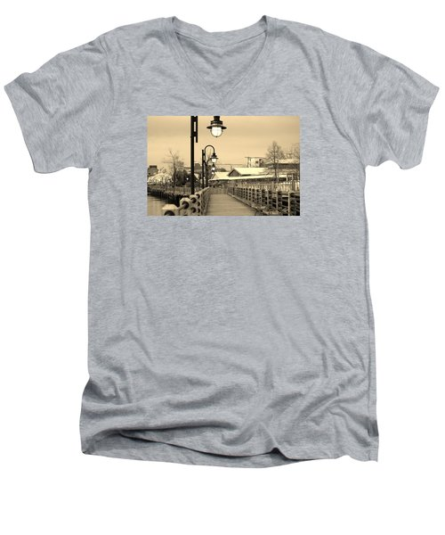 Riverfront Men's V-Neck T-Shirt