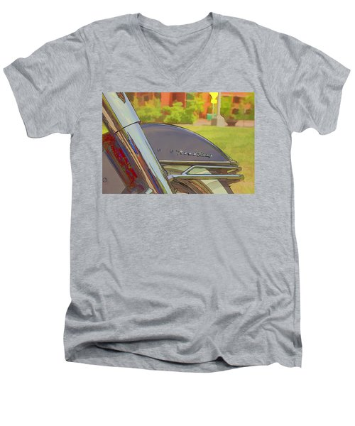 Road King Men's V-Neck T-Shirt