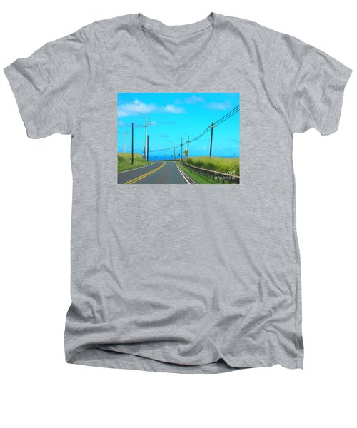 Road To The North Shore Men's V-Neck T-Shirt