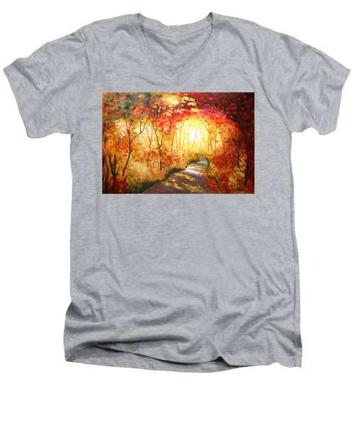 Road To The Sun Men's V-Neck T-Shirt