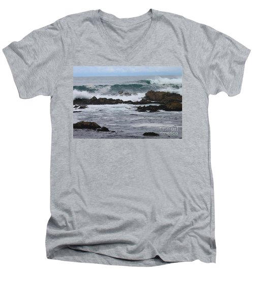 Roaring Sea Men's V-Neck T-Shirt