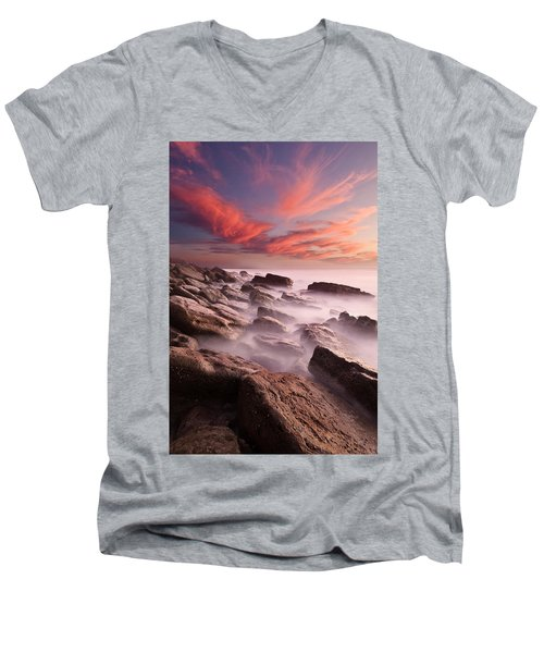 Rock Caos Men's V-Neck T-Shirt