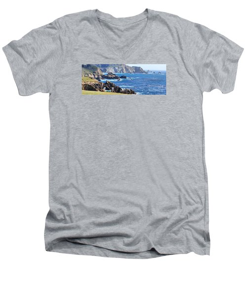Rocky Creek Bridge Men's V-Neck T-Shirt