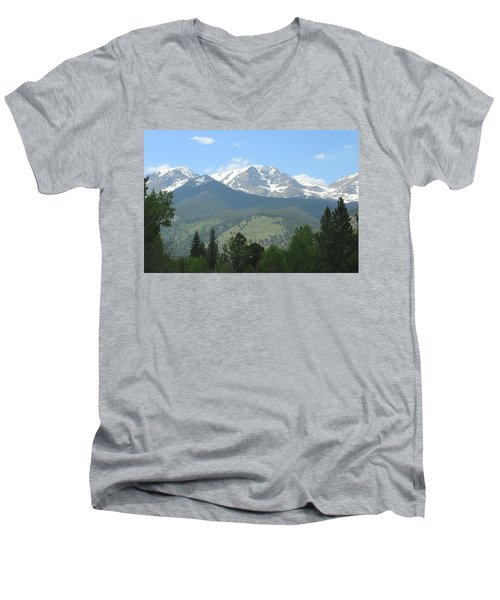 Rocky Mountain National Park - 2 Men's V-Neck T-Shirt