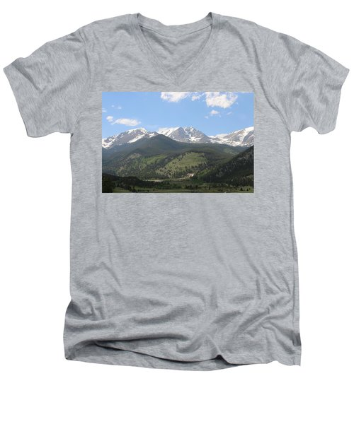 Rocky Mountain National Park - 3  Men's V-Neck T-Shirt