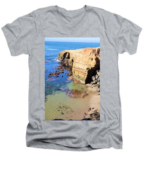 Rocky Point Sunset Cliffs Men's V-Neck T-Shirt