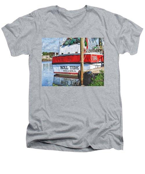 Roll Tide Stern Men's V-Neck T-Shirt