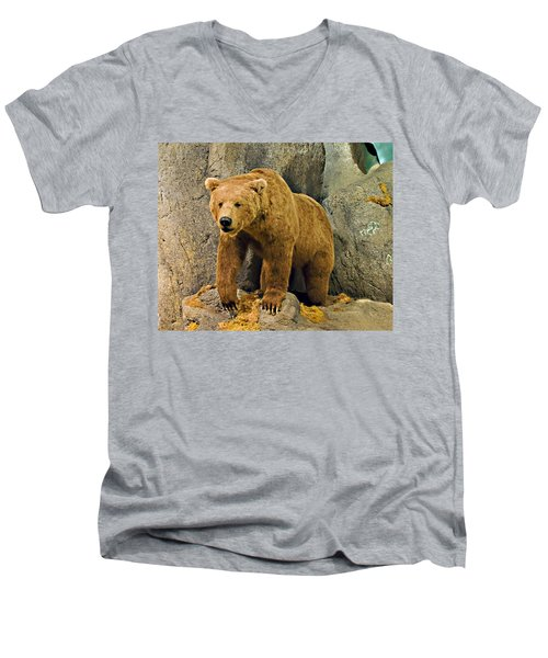 Rolling Hills Wildlife Adventure 1 Men's V-Neck T-Shirt
