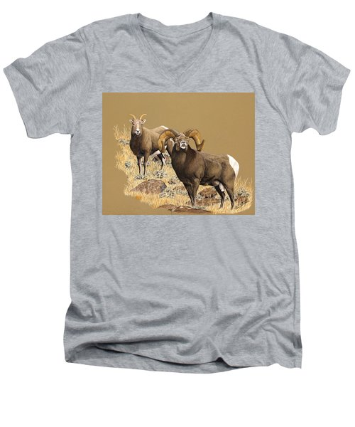 Romeo Men's V-Neck T-Shirt