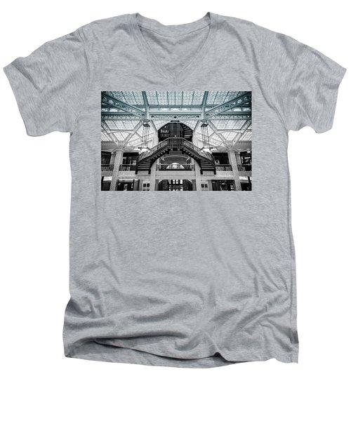 Rookery Building Atrium Men's V-Neck T-Shirt