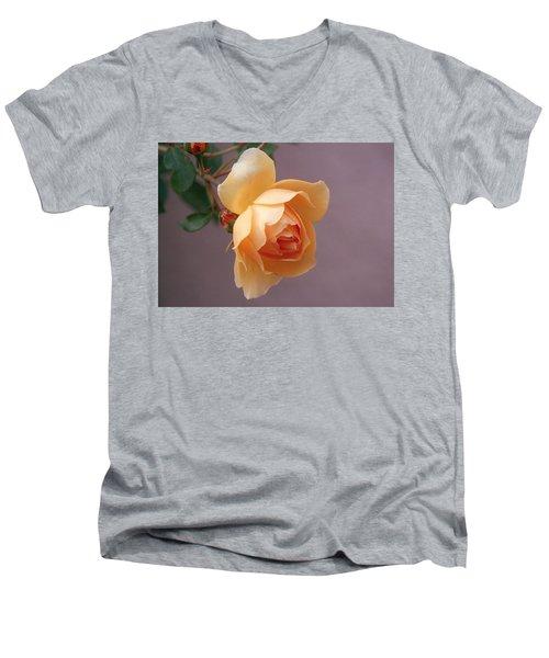 Rose 4 Men's V-Neck T-Shirt by Andy Shomock