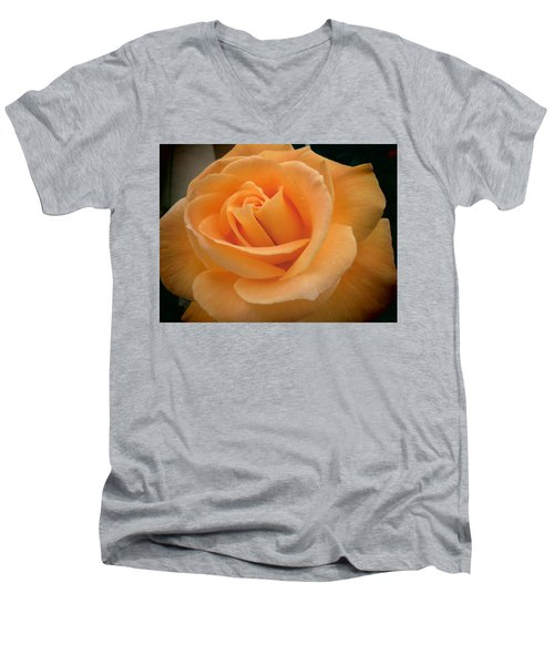 Men's V-Neck T-Shirt featuring the photograph Rose by Laurel Powell