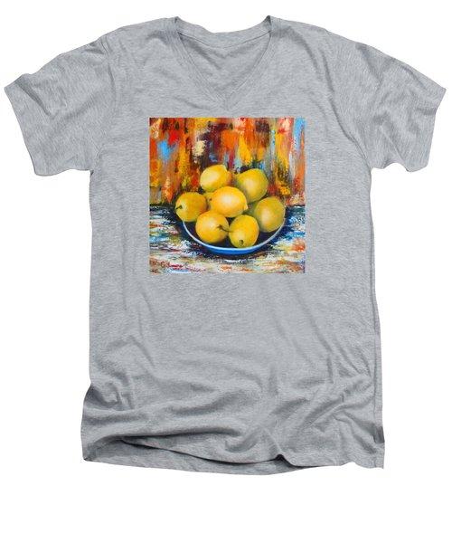 Rosie's Harvest Men's V-Neck T-Shirt