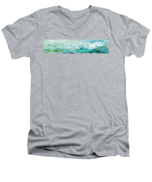 Rough Waters Men's V-Neck T-Shirt