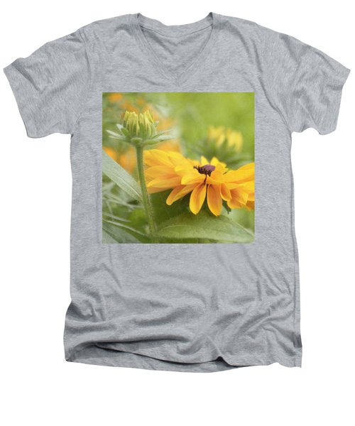 Rudbeckia Flower Men's V-Neck T-Shirt