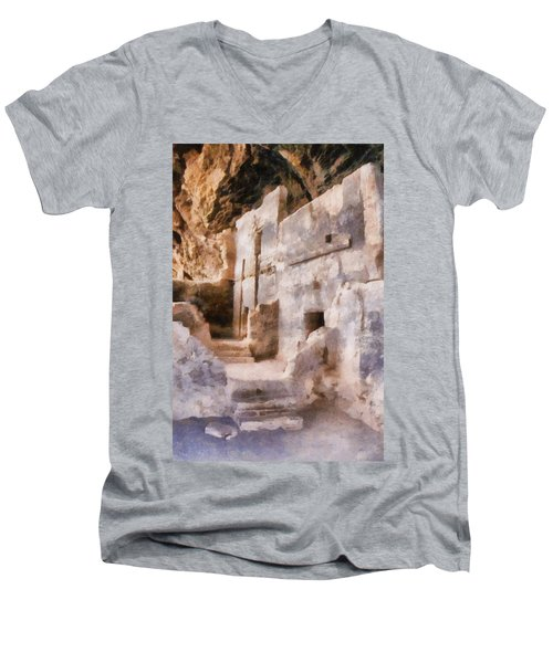 Ruins Men's V-Neck T-Shirt