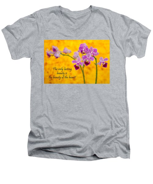 Rumi Quote-1 Men's V-Neck T-Shirt