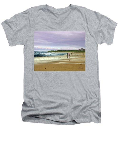 Run Off Men's V-Neck T-Shirt