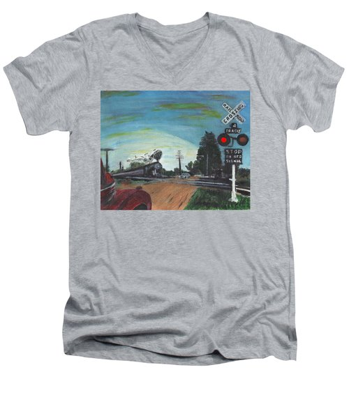 Rural America Men's V-Neck T-Shirt