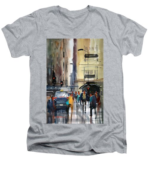 Rush Hour 2 - Chicago Men's V-Neck T-Shirt