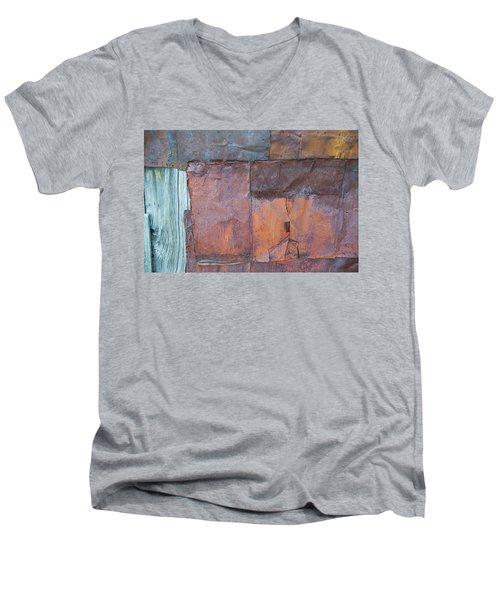 Rust Squared Men's V-Neck T-Shirt