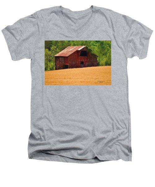 Rusty Coat Men's V-Neck T-Shirt