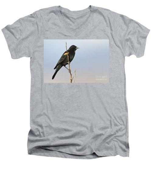 Rwbb On Stick Men's V-Neck T-Shirt