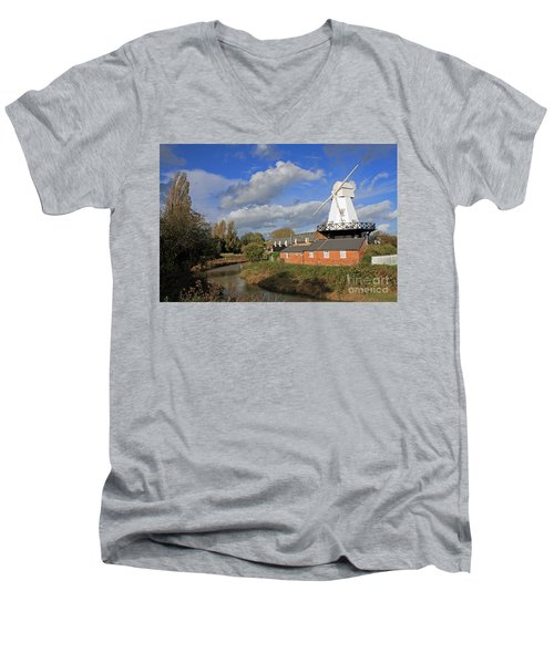 Rye Windmill Men's V-Neck T-Shirt