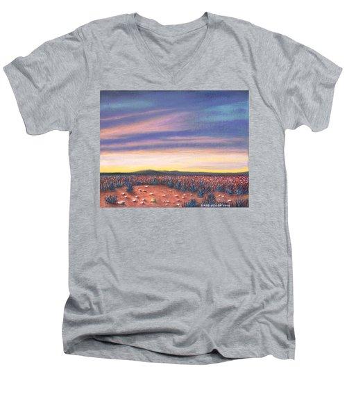 Sagebrush Sunset C Men's V-Neck T-Shirt