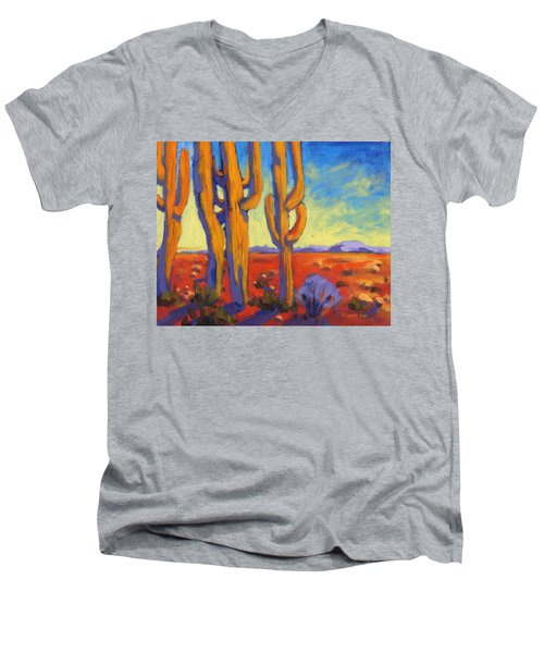 Desert Keepers Men's V-Neck T-Shirt