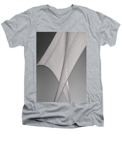 Sailcloth Abstract Number 3 Men's V-Neck T-Shirt