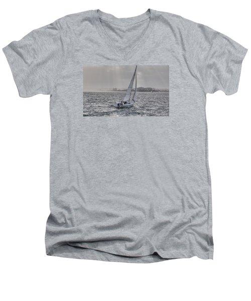 Sailing Bliss  Men's V-Neck T-Shirt