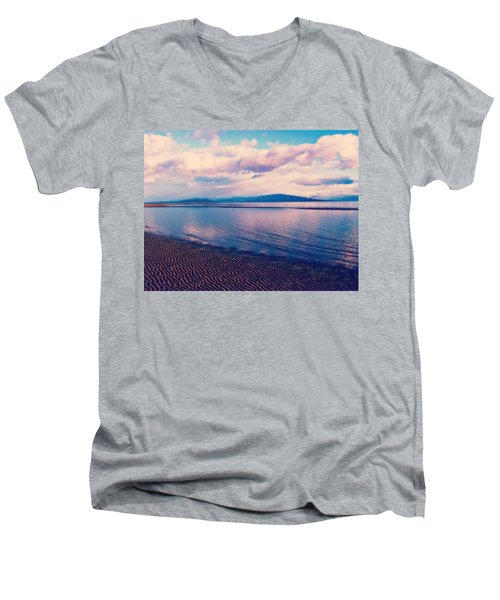 Men's V-Neck T-Shirt featuring the photograph Sailor's Delight by Marilyn Wilson