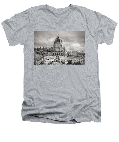 Saint Joseph Oratory Men's V-Neck T-Shirt